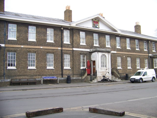 Admiral's Office at Chatham Dockyard