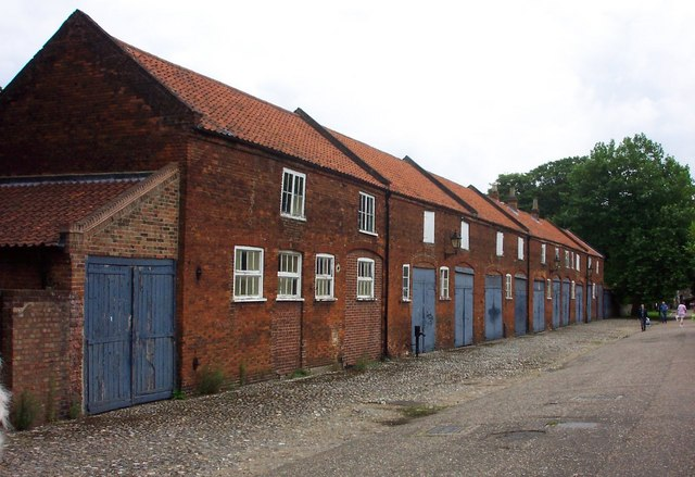 Old buildings in Lower Close-Norwich