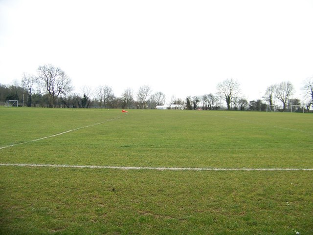 Playing Fields at Simon Langton school for boys