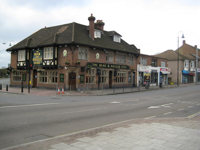 Crayford: The Bear and Ragged Staff public house