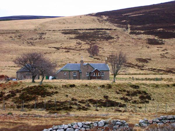 Etnach, stalkers cottage, Glen Tanar