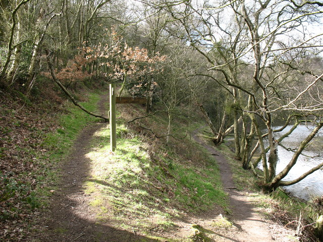 Path junction, Gormire Lake