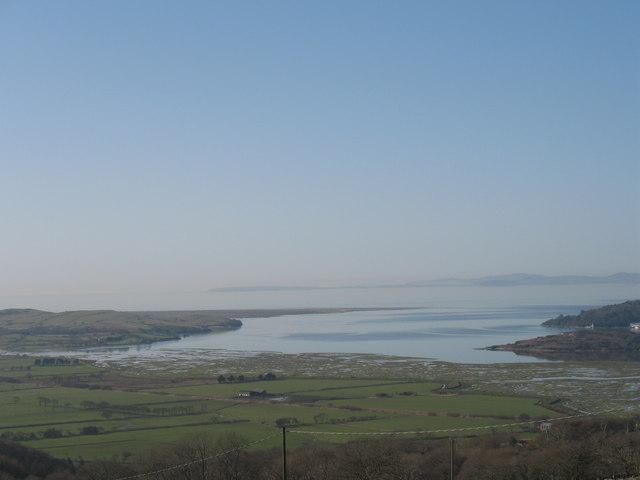 View of the Dwyryd estuary from near Bryn Bwbach