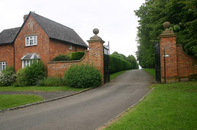 Cross Bucks Way by Hillesden Church