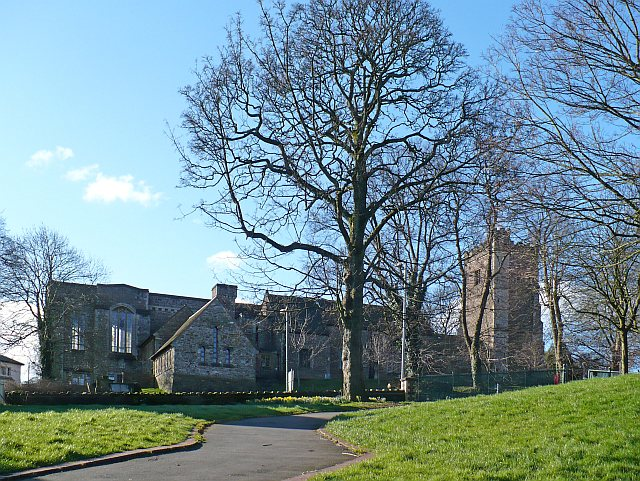 St Woolos Cathedral from the north