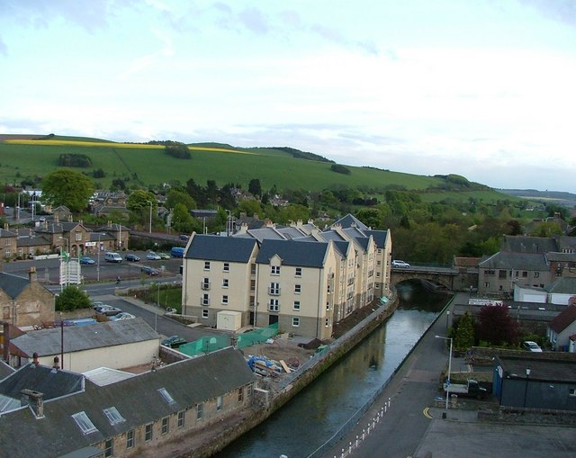 River Eden and Railway Station