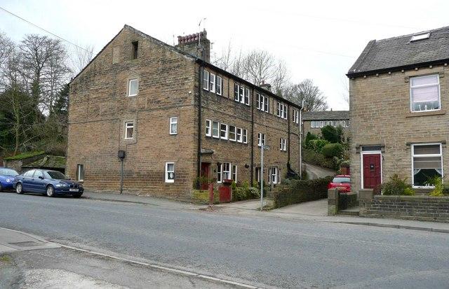Weaver's houses, Huddersfield Road, Netherthong