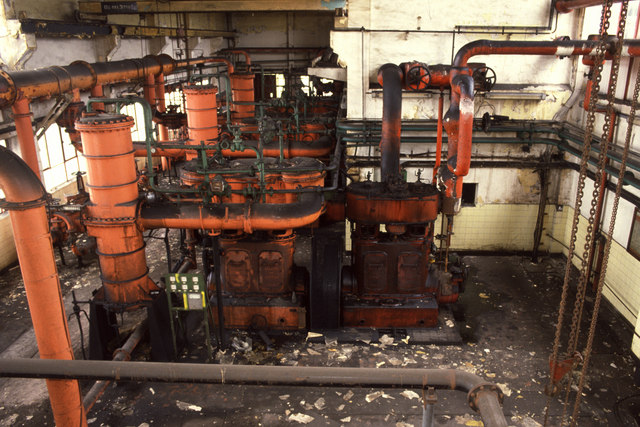 Gas compressors, Hawthorn Coking Works