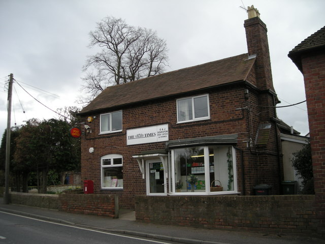 Cressage Post Office.