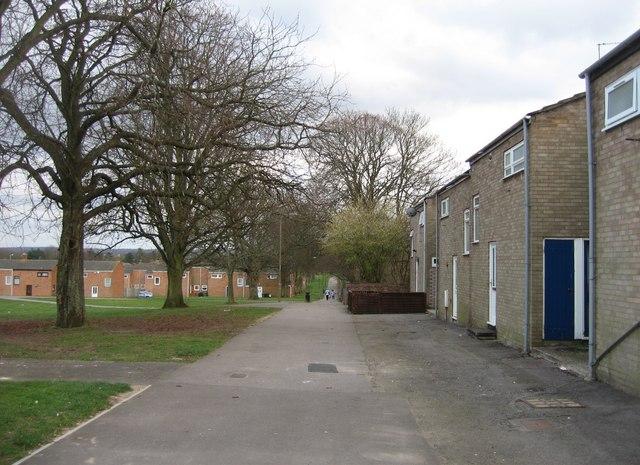 Winklebury estate footpath