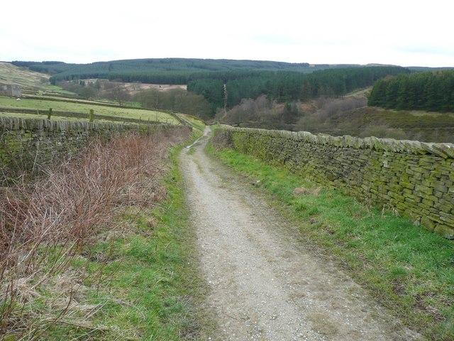 Clough Foot Lane, Holmfirth