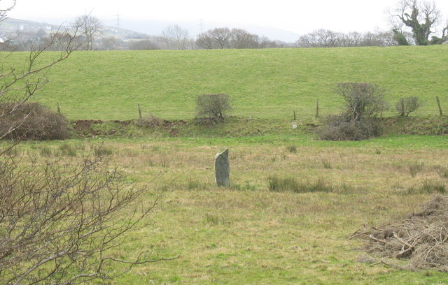 A standing stone