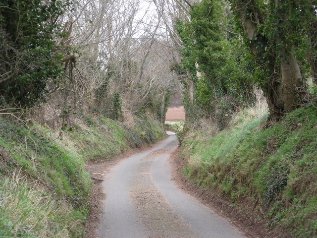 Down the lane to Cound