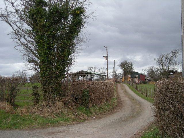 Farm buildings at The Glebe.