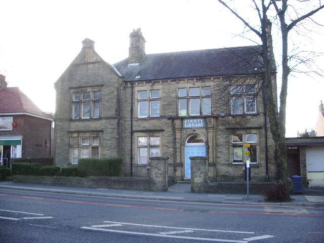 Heysham Library, Heysham Road