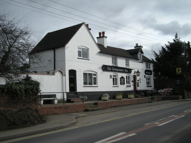 Another view of The Compass Inn.