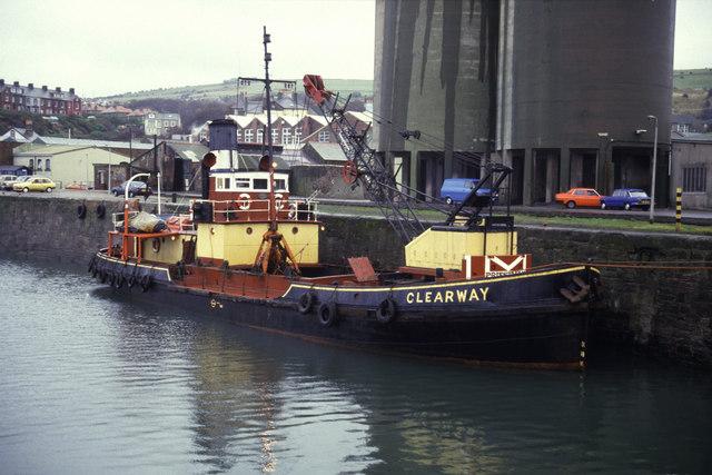 Steam Dredger Clearway, Whitehaven