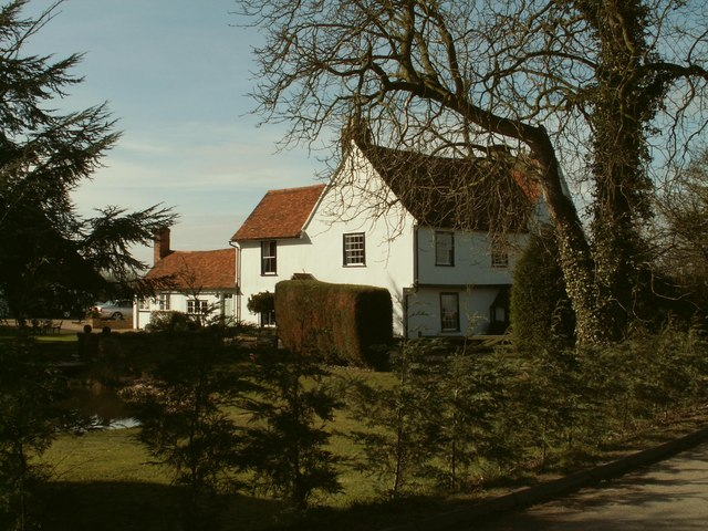 The farmhouse at Mayes Farm