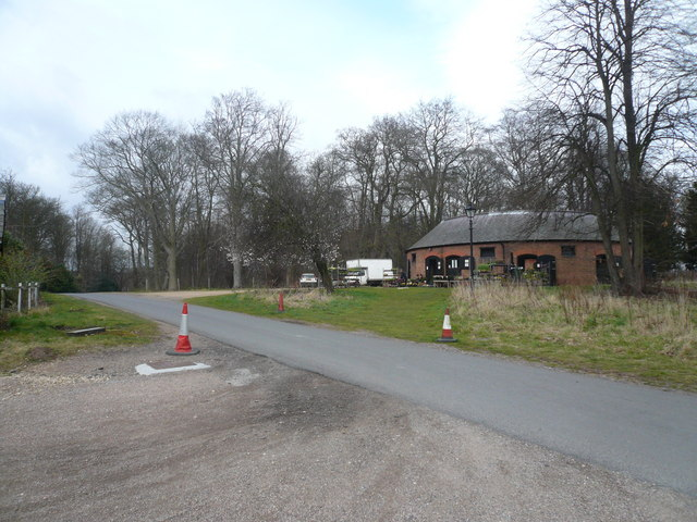 Thoresby Hall - Entrance Road and Plant Sales