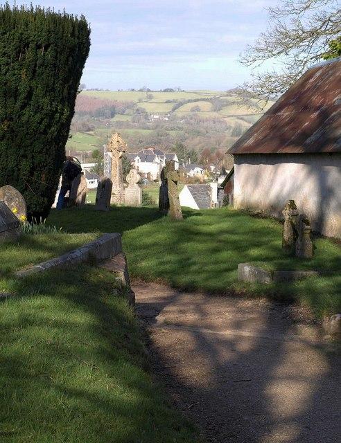 Churchyard, Chagford