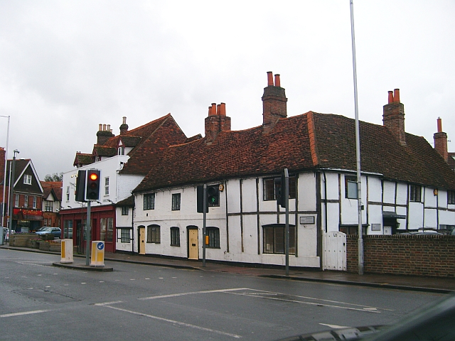 Old buildings in Church Street, Caversham