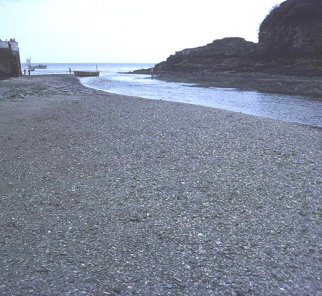 Low tide at Looe