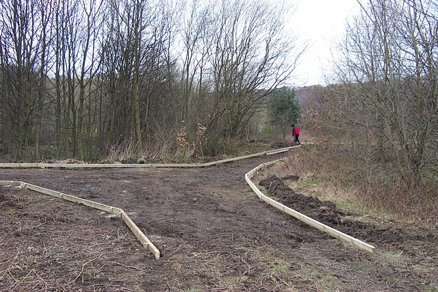 Footpath Improvement in Cromwell Bottom Nature Reserve