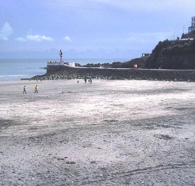 Banjo Pier and Looe Beach
