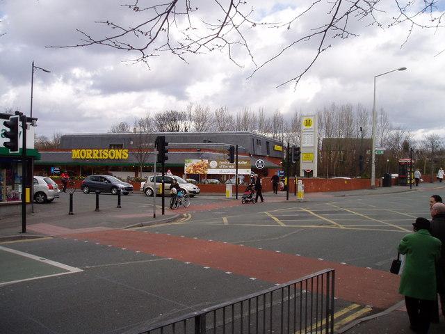 Morrisons Supermarket in Chorlton cum Hardy