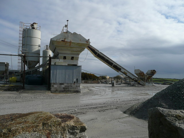 Plant at Kessel Downs Quarry