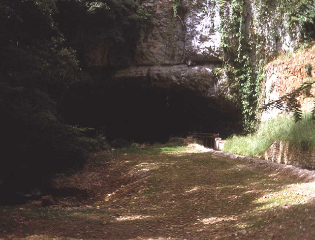 Entrance to Wookey Hole Cave