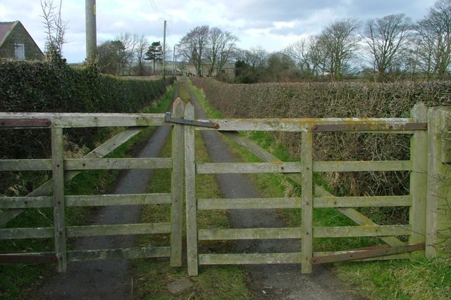 Track to St. Michael's Church, Liverton