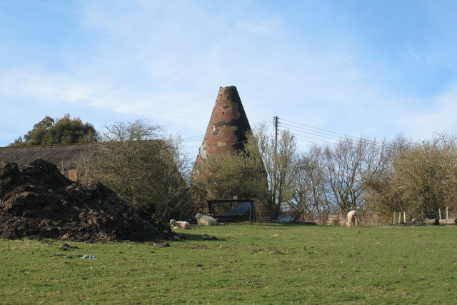 Unconverted Oast House at Goatham Farm, Goatham Lane, Broad Oak, Brede, East Sussex