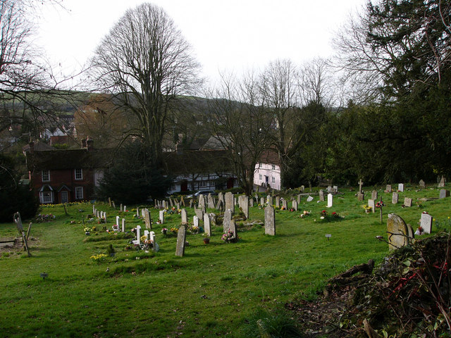 All Saints churchyard, East Meon