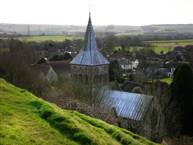 Parish church of All Saints, East Meon