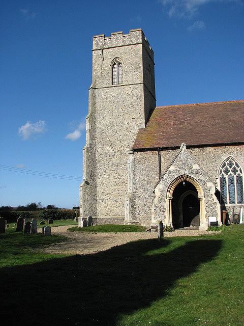 St Mary's church - porch and tower