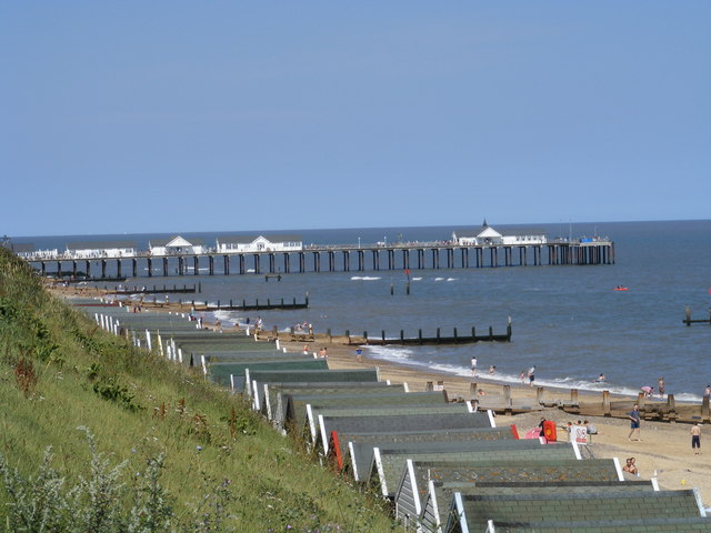 Southwold Pier from the seafront