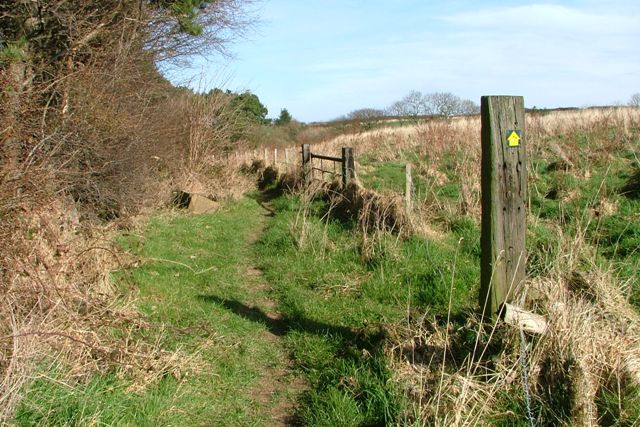 Footpath Near Holywell Farm