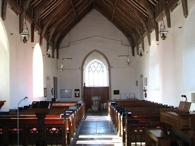 St Mary's church - view west