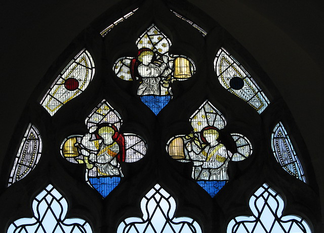 St Mary's church - stained glass