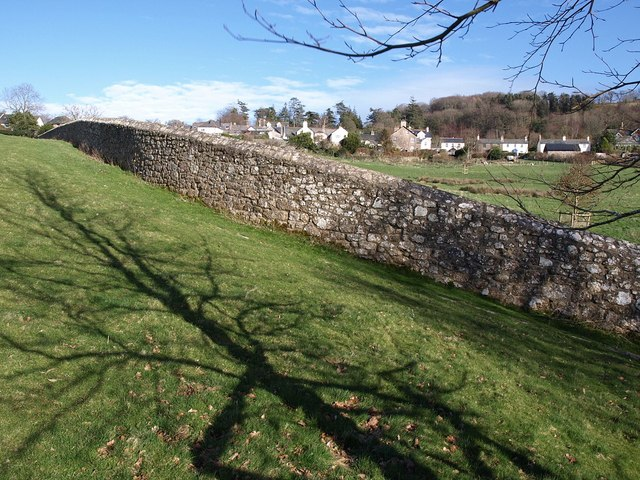 Wall, Chagford Open Field