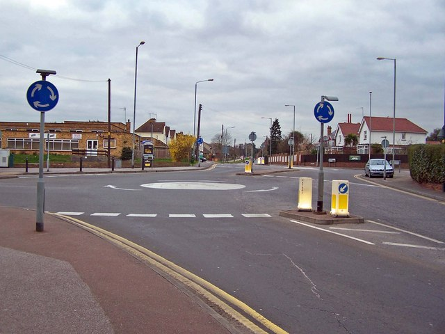 Road junction, Wainscott