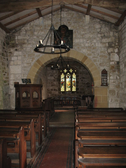 St Mary's church - interior