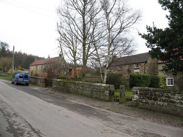 Village street - Over Silton