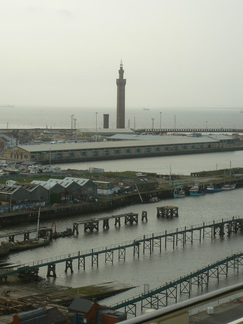 Grimsby Dock Tower From Ross House