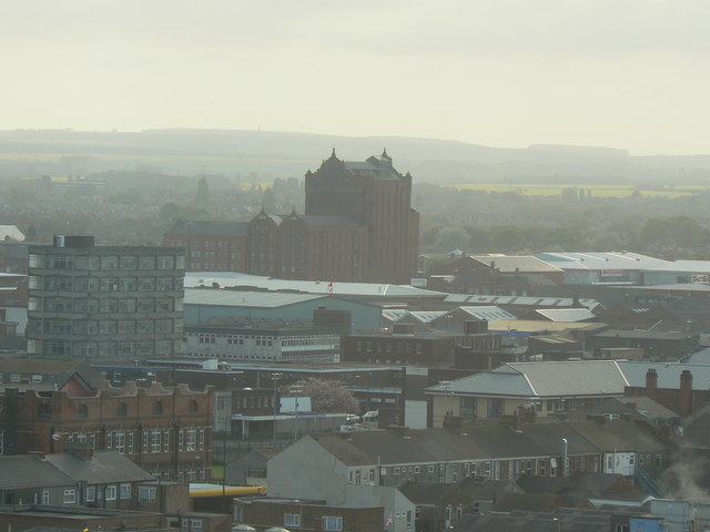 Victoria Mills and beyond from Ross House