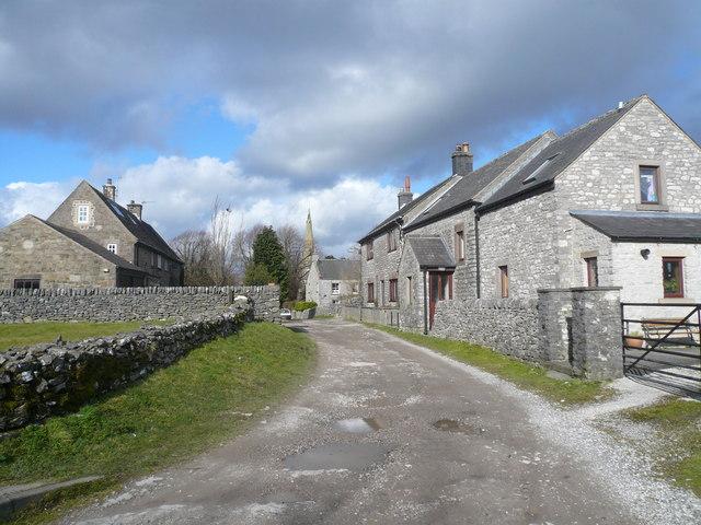 Monyash - Church Lane View