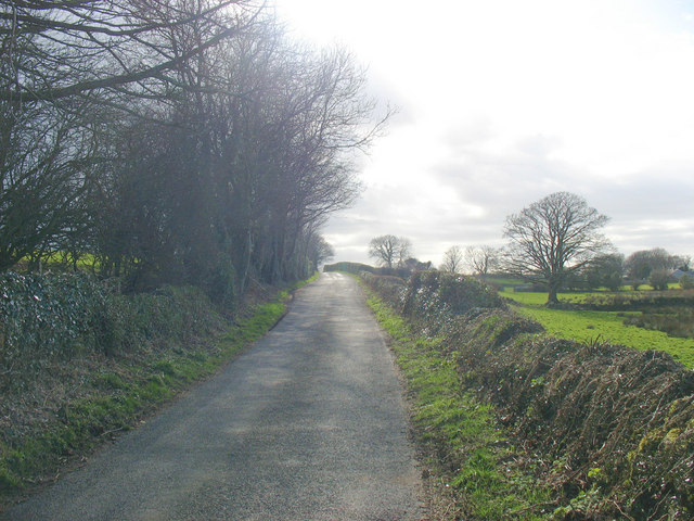 The Pencefn road
