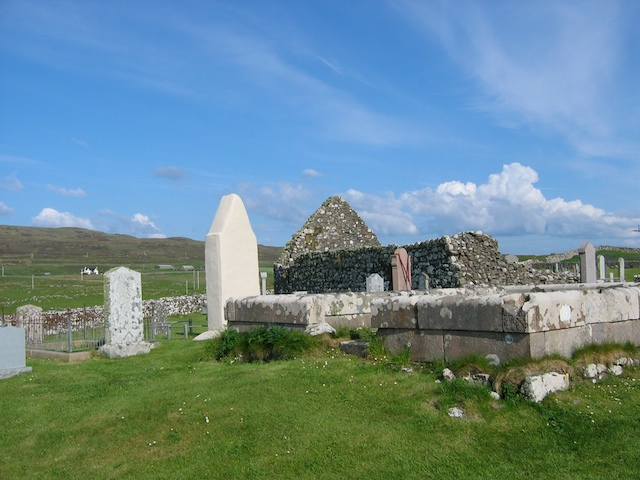 Graveyard at Trumpan Church