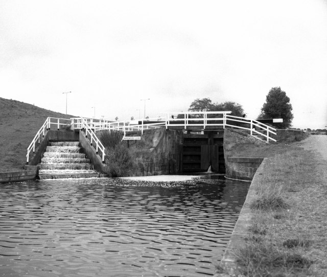 Barrowford Bottom Lock No 51, Leeds and Liverpool Canal